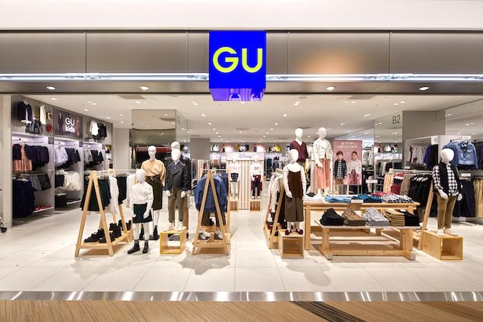 GU 店舗