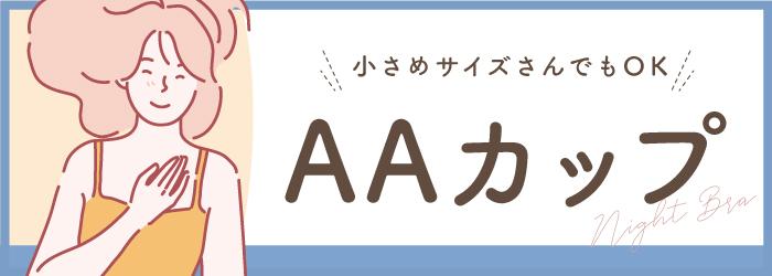 ナイトブラ AAカップ