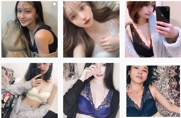 くつろぎ育乳ブラ instagram